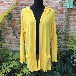 Sparrow yellow cardigan